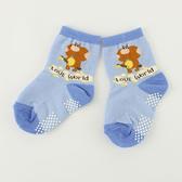 【愛的世界】森林伙伴止滑透氣襪/9~17CM-台灣製- ---童鞋童襪