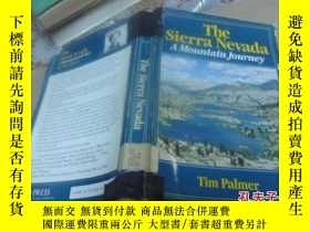 二手書博民逛書店the罕見sierra nevada a mountain jo