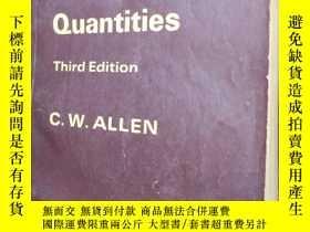 二手書博民逛書店Astrophysical罕見Quantities Third