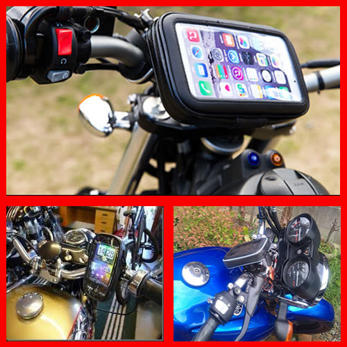 note 8 j2 j7 a7 s7 a5 a9 edge htc u11 rs iphone 7 x Woo 100三星保護殼側翻皮套手機座摩托車導航支架