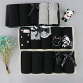 5條禮盒裝棉質蕾絲黑色灰色清新純色女學生三角棉質面料低腰禮盒裝內褲 快速出貨