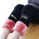 女童打底褲加絨加厚冬裝新款兒童寶寶三層冬款洋氣棉褲外穿長褲子