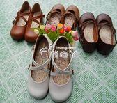 娃娃鞋學生演出小皮鞋搭扣小清新平底可愛圓頭女鞋 俏腳丫