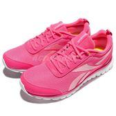 【粉粉DER】Reebok 慢跑鞋 Sublite Sport 紅 白 粉紅 運動 跑步 大童鞋 女鞋【PUMP306】 AR3275