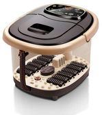 220V家用足浴盆全自動按摩 洗腳盆足浴器 泡腳機電動恒溫加熱足療深桶igo  晴光小語