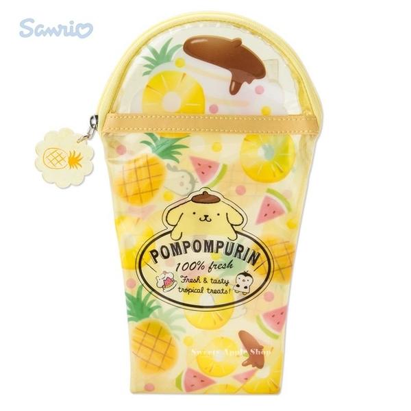 日本限定 三麗鷗 布丁狗 水果風 收納袋 筆袋