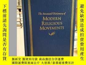 二手書博民逛書店The罕見Annotated Dictionary of Mod