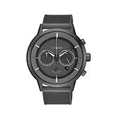 【Citizen星辰】GENT'S超級鈦光動能時尚簡約腕錶-鐵灰黑/CA4405-17H/台台灣總代理公司貨享兩年保固