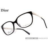 Dior 光學眼鏡 CD3250 RHP (個性黑) 全台獨家款平光鏡框 # 金橘眼鏡
