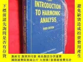 二手書博民逛書店An罕見Introduction to Harmonic Ana