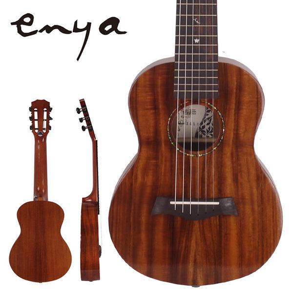 ★集樂城樂器★Enya 28吋吉他麗麗A级單板虎纹相思木EGL-07