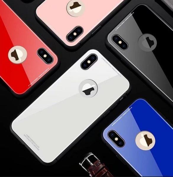 賣翻 絕美 玻璃背板+全包邊 i7 i6 s iphoneX i7 plus iphone 8 i8 plus 手機殼