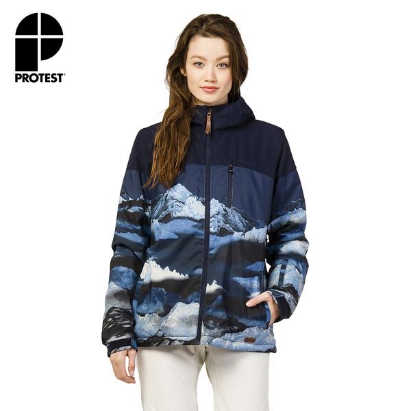 PROTEST 女 機能防水保暖外套 (地表藍) FERNIE SNOWJACKET