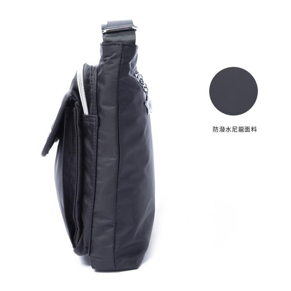 金安德森 城市酷玩 前袋翻蓋斜側包 都會黑