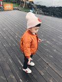 外套寶寶加厚外套兒童棉服男1一3-4歲潮秋冬嬰兒衣服棉襖男童冬裝棉衣『櫻花小屋』