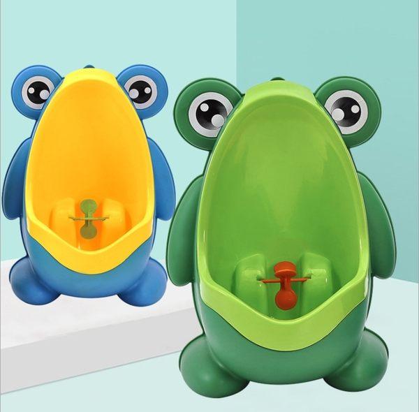 寶寶小便器男孩掛墻式小便池尿壺小孩尿盆男童站立兒童小便斗青蛙