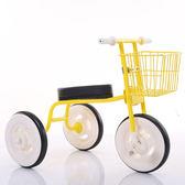 日本款兒童三輪車2-4歲寶寶簡易腳踏車輕便小孩玩具車自行車 卡布奇诺HM