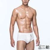 【三槍牌】精典時尚型男全棉三角褲5件組