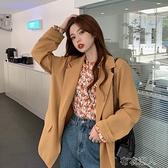 外套女季2021年新款韓版英倫風寬鬆洋氣百搭 【快速出貨】