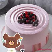 艾波索【小熊學校-北美野莓森林6吋】小熊傑琪陪你過生日!正版授權!加贈派對包一組