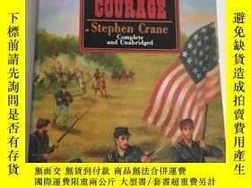 二手書博民逛書店the罕見red badge of courage stephe