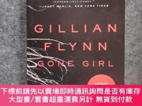 二手書博民逛書店GILLIAN罕見FLYNN GONE GIRL吉莉安·弗林失蹤女孩,Gone Girl 消失的愛人Y2432