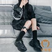 腿環襪子女中筒襪小腿襪扣長筒襪薄款制服襪夾【宅貓醬】