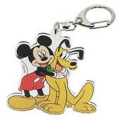 ~震撼  ~Micky Mouse_ 米奇米妮迪士尼歡樂人物 製壓克力鑰匙圈米奇布魯托