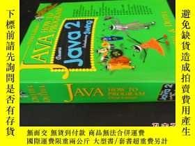 二手書博民逛書店JAVA罕見HOW TO PROGRAM 附盤 Java如何編程