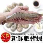 買1送1【海肉管家-全省免運】深海肥豬蝦 共2盒(600g±10%/盒/ 每盒13-17隻)