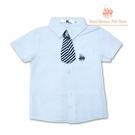 兒童白襯衫 贈紅領結或領帶 幼兒園畢業穿搭 [41064]RQ POLO 小童 5-15碼 春夏 童裝 現貨