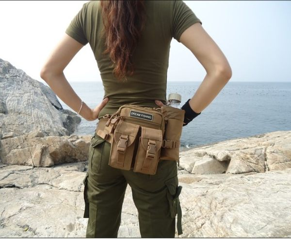 [協貿國際]  隨身釣魚包海釣磯釣工具包