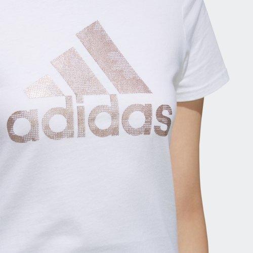 ADIDAS GFX TEE BOS 上衣 短袖T恤 正品 EH3875 女款 白【iSport愛運動】
