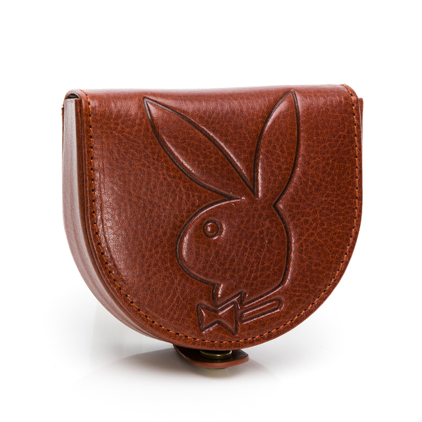 PLAYBOY - 零錢包 Mr. Rabbit系列 - 咖色