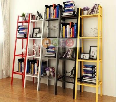 落地客廳廚房簡易鐵藝書架  多層收納儲物架 花架【潮咖範兒】