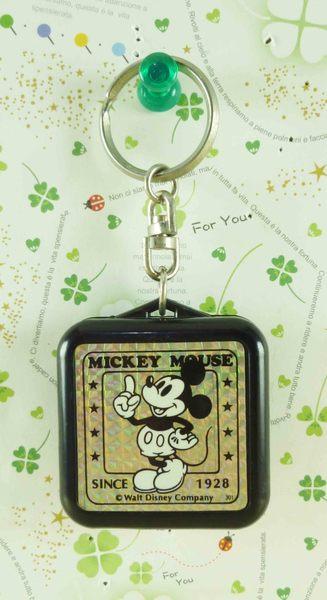 【震撼精品百貨】Micky Mouse_米奇/米妮 ~手電筒鑰匙圈-黑