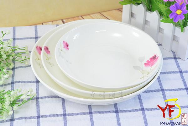 【堯峰陶瓷】餐桌系列 骨瓷 情定一生 8吋單入 湯盤 深盤 盤子   新婚贈禮   新居落成禮   現貨