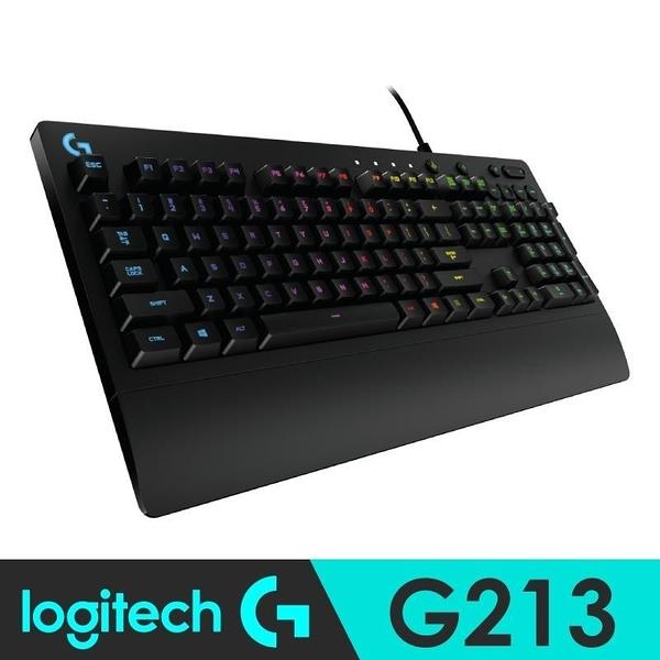 【南紡購物中心】【羅技】G213 PRODIGY RGB遊戲鍵盤