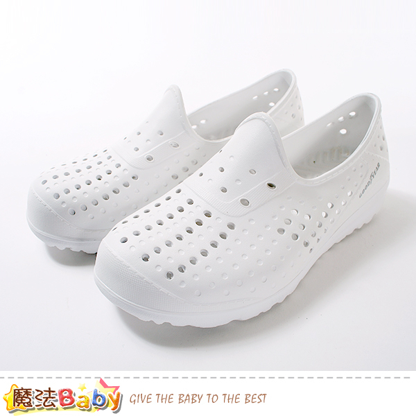 女鞋 超輕量晴雨兩用休閒洞洞鞋 魔法Baby