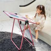 寫字板 兒童畫板小黑板支架式家用畫架可升降雙面磁性塗鴉板寫字白板寶寶 果果輕時尚NMS