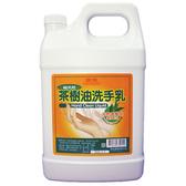 【康潔 洗手乳】康潔茶樹油洗手乳 一加侖 (4桶/箱)