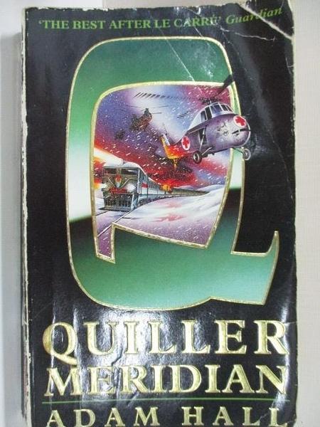 【書寶二手書T1/原文小說_A35】Quiller Meridian