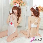 情趣內睡衣 性感睡衣 情趣用品 情趣睡衣套組【Gaoria】傾聽心跳 護士服露乳 角色扮演 性感SM睡衣