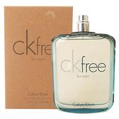 Calvin Klein CK Free 男性淡香水 100ml Tester環保包裝 58101【娜娜香水美妝】