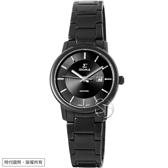 【台南 時代鐘錶 SIGMA】簡約時尚 藍寶石鏡面黑鋼女錶 1122LB01 深灰/黑鋼 30mm 平價實惠的好選擇