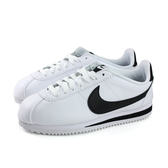 NIKE CLASSIC CORTEZ LEATHER  運動鞋 白色 女鞋 807471-101 no005