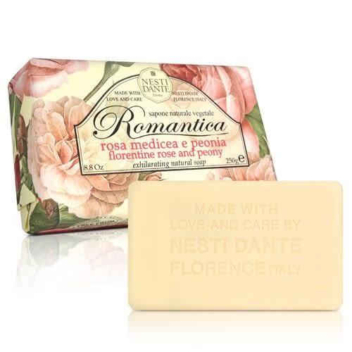 Nesti Dante 義大利手工皂-愛浪漫 生活風系列-佛羅倫斯玫瑰和牡丹250g