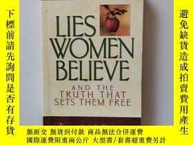 二手書博民逛書店Lies罕見Women Believe【說謊的女人相信】Y22264 Nancy Leigh Demoss M