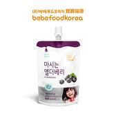 韓國 bebefood 寶寶福德 接骨木莓果汁80ml【佳兒園婦幼館】