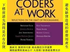 二手書博民逛書店Coders罕見At Work-工作中的編碼員Y436638 Peter Seibel Apress, 200